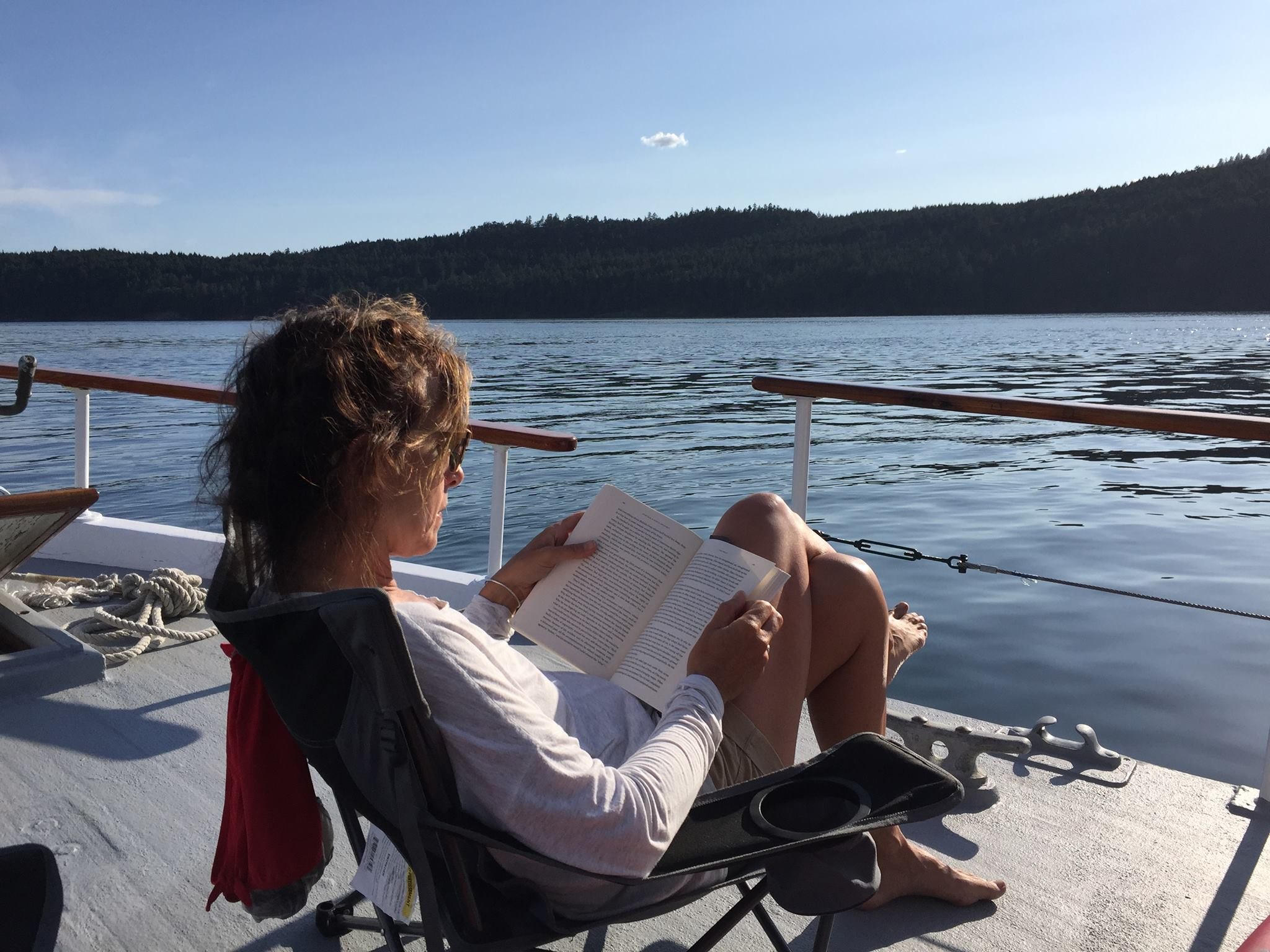 Reading and Boating