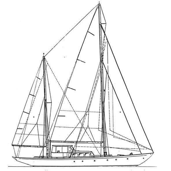 Philip L. Rhodes 77 Aluminum Sailing Ketch