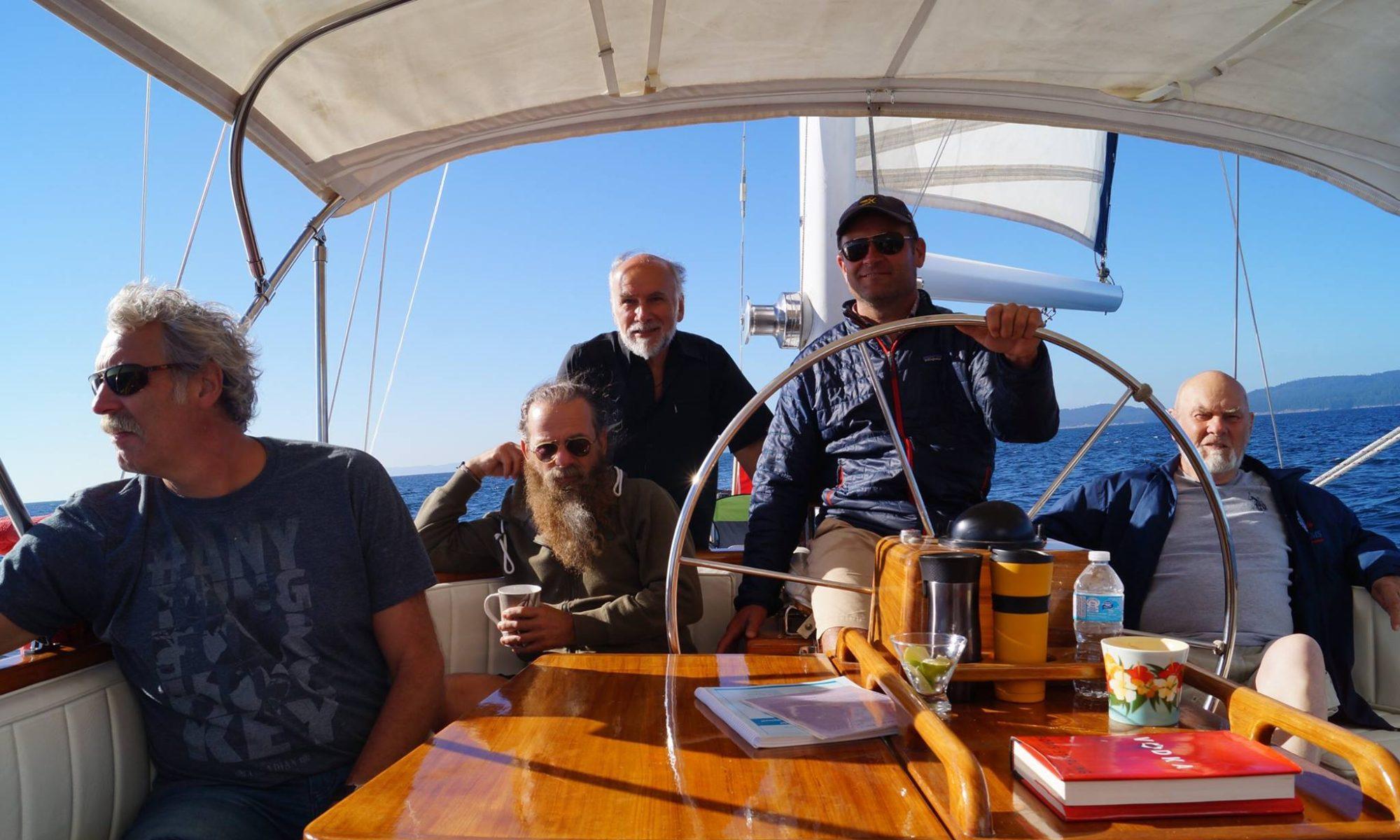 Sailing Esperanza