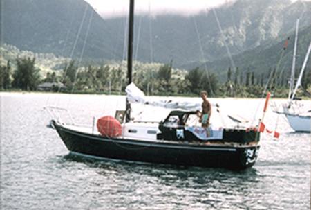 Peg Leg Departure from Kauai to Victoria